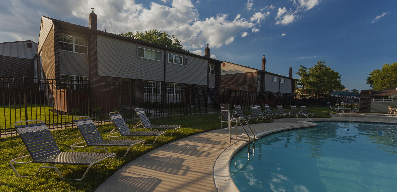 Pool at Regency Woods Apartments