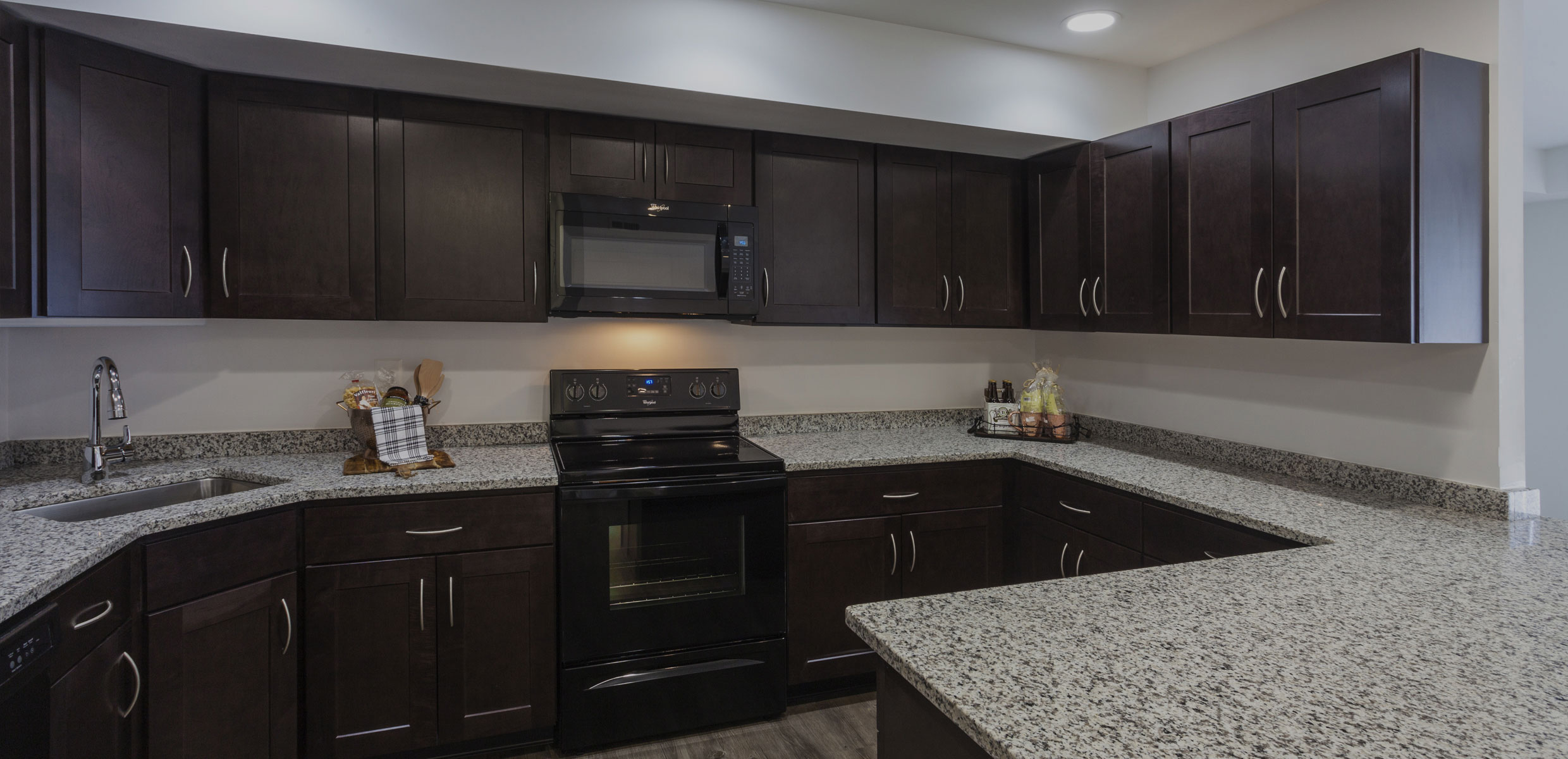 Kitchen at Regency Woods Apartments