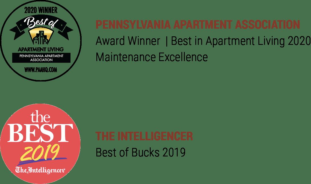 Regency Woods apartment awards